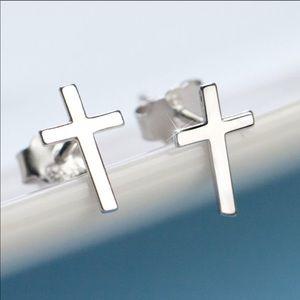 Jewelry - Silver Cross Earrings